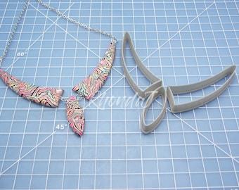 Cutter Set #86 / Necklace Cutter Set / Polymer Clay Cutter Set / Clay Cutting Tools / Nested Cutting Tools