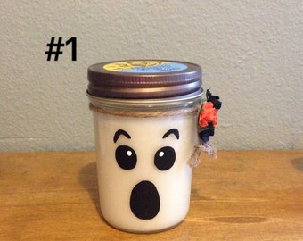 Halloween Ghost scented Candles
