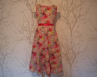 Made to order: girls dress in liberty fabric