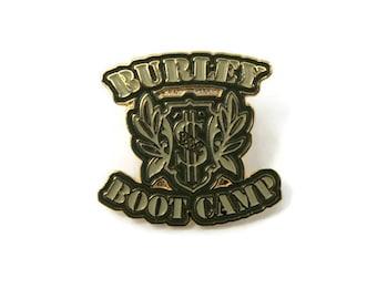 Burley Boot Camp Enamel Pin