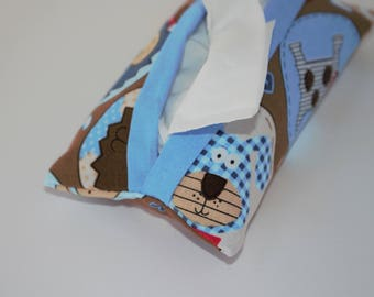 Dogs and Puppies Tissue Holder