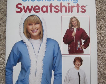 Crochet Book - Crochet Using Sweatshirts - Annies Attic #875011