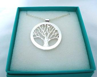 Tree of Life Pendant Tree of Life Jewelry Tree Necklace Tree Pendant Tree Life Necklace Tree-of-Life Pendant Silver Tree of Life