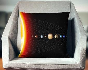 Space Pillow | Planet Pillow | Solar System Decor | Space Decor | Cool Gifts | Planets Gift | Space Gifts | Solar System Decor