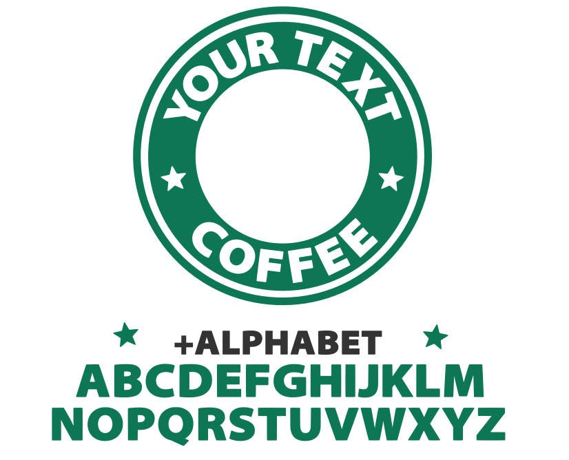 It's just an image of Remarkable Starbucks Printable Logo