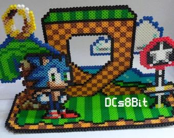 3D Sonic Perler