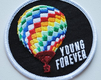kpop BTS Young Forever Hot Air Balloon iron-on Patch