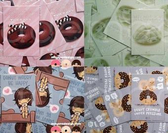 set of 4 donut prints (you choose 5x7 prints)
