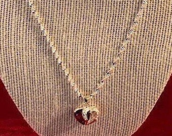 Silver - Heart - Pendant- Necklace - For Her