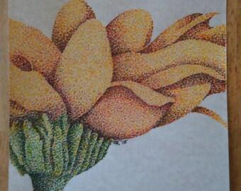 Pointalism Flower