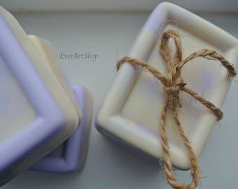 Soap Lavender Vanilla Homemade | Handmade Soap | Vegan Soap | Bath and Body | Shea Butter Soap | Essential Oil Soap