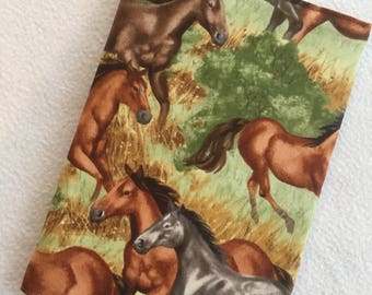 HORSE NOTEBOOK COVER – A5 Notebook included - Horse Lover - Stationery - Equestrian - Animal Lover - File - Gift - Animal Lover Gift