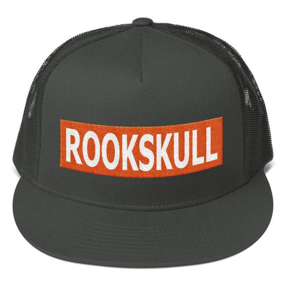 RookSkull cap, Mesh Back Snapback