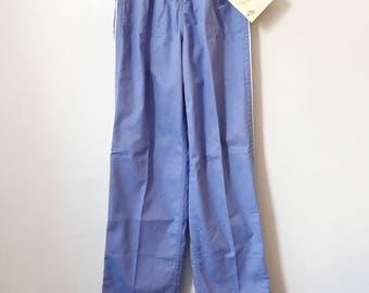 vintage nike blue tag player pants womens size small deadstock NWT 80s made in USA