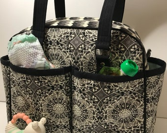 Modern Diaper Bag // Large Tote // Belle Bag // Vegan