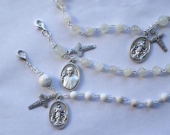 Pope Francis Our Lady Undoer of Knots Rosary Bracelet