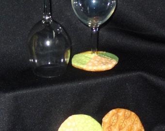 Wine Stemmed Glass Coasters