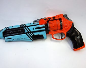 Palindrome hand cannon prop
