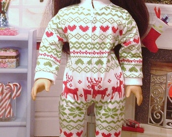 Nordic Sleeper Pajamas for American Girl