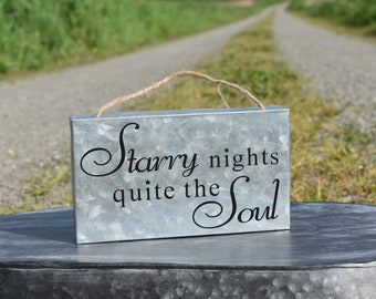 Starry Nights Quite the Soul Sign