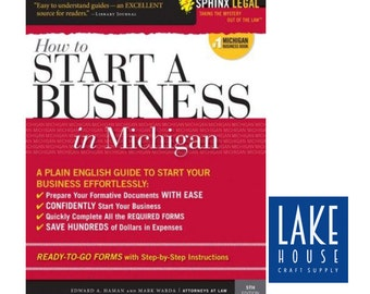 How to Start A Business in Michigan. Business Manual. #1 Michigan Business Book. Legal Reference Guide Business. SALE