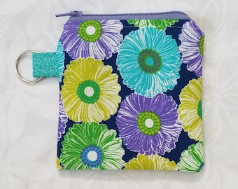 Zipper Pouch, Coin Purse, Key Chain