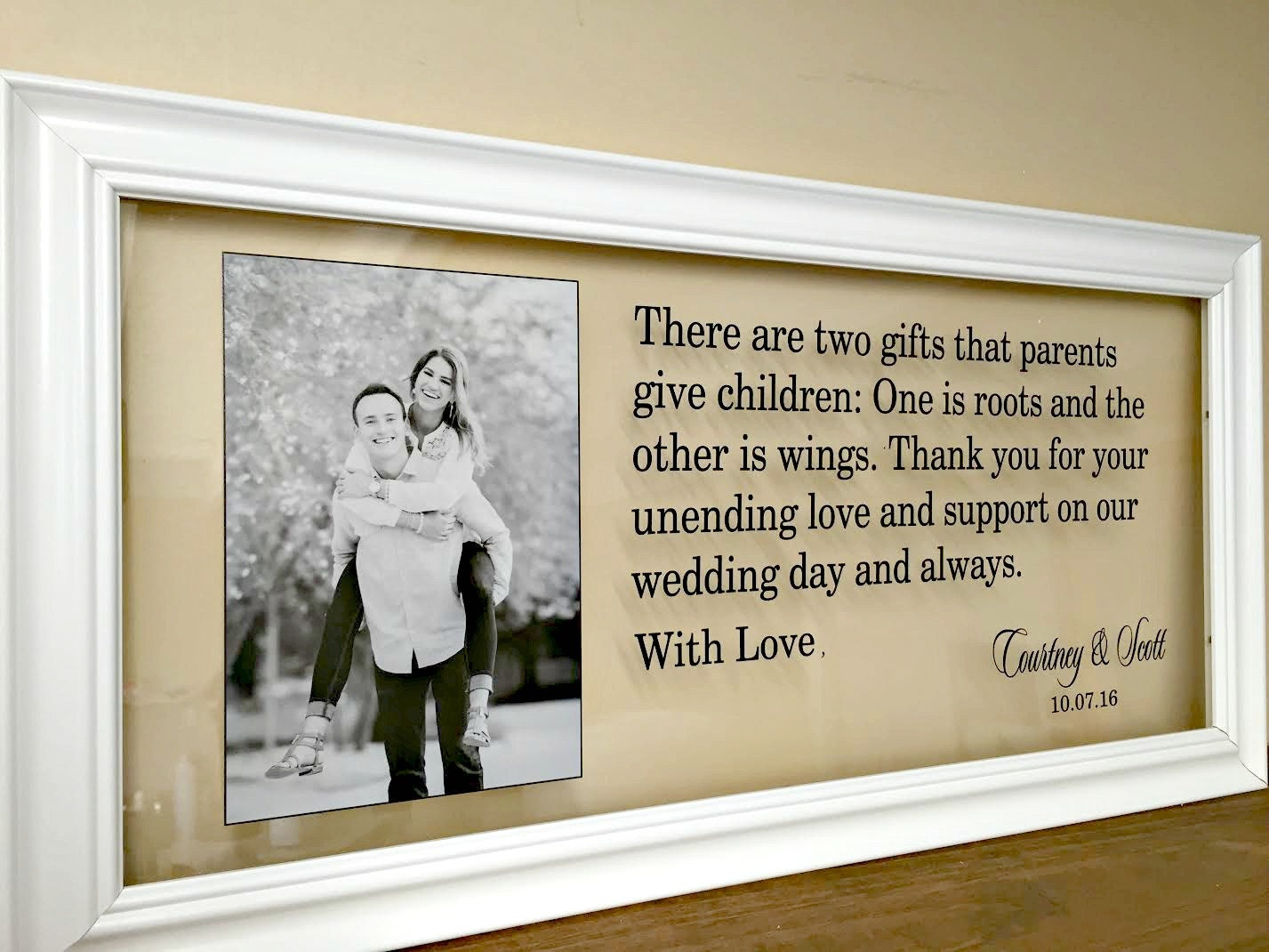 Ideas For Wedding Gifts For Parents: Wedding Gifts For Parents Mother Of The Groom Gift Wedding