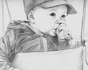 Custom Portrait, Custom Sketch, Custom Digital Portrait, Hand Drawn Portrait, Commission Portrait, Personalized Portrait, Hand Drawing Art