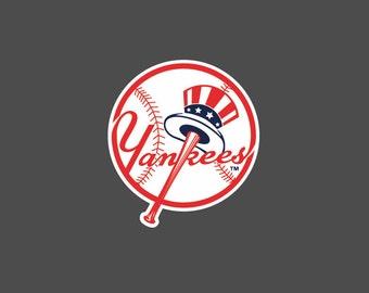 Full Color New York Yankees - Die Cut Decal/Sticker