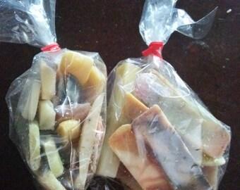Soap Scraps/Odds And Ends/Clearance Soap/Organic Soap/Soap Sampler/Soap Grab Bag/Soap Pieces/Mini Soaps/Essential Oil Soap/Handmade Soap