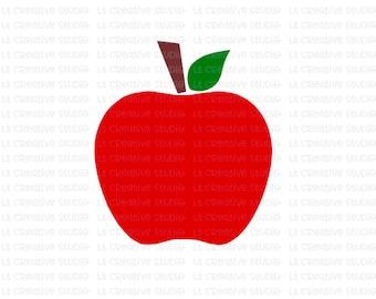 Apple SVG, School SVG, Svg Files, Cricut Cut Files, Silhouette Cut Files, Teacher SVG, Cutting Files