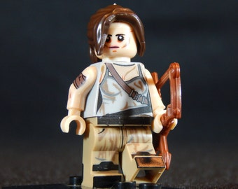 Lara Croft Inspired Minifigure Tomb Raider (LEGO Compatible)
