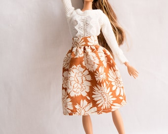 Barbie Clothes, Barbie, Handmade, Doll Clothes, Recycle