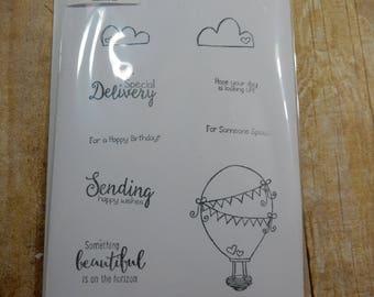 DESTASH - Unity Stamp Co Sending Up Something Beautiful