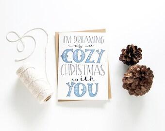 Romantic christmas card long distance relationship love romantic christmas card long distance relationship christmas love card i love you merry christmas card christmas greeting card m4hsunfo