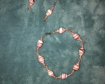 Pink Swirls Set