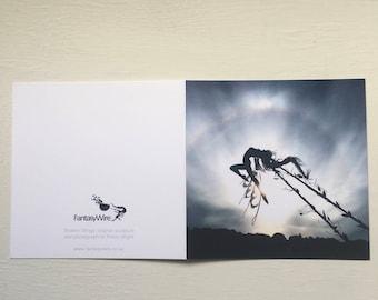 Broken Wings, Fairy greetings card by FantasyWire