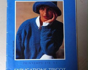 explanation Bergère de france 1993 magazine