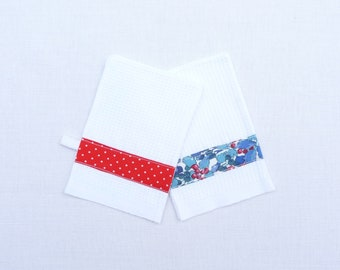 set of two Washcloths child 2-4 years