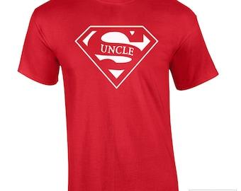 Uncle Shirt, Super Hero Uncle Shirt- 360