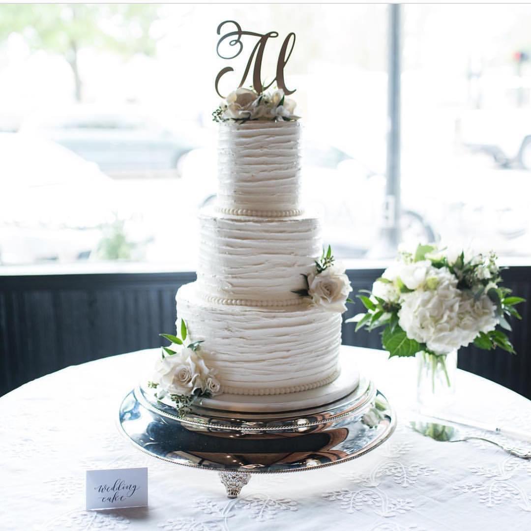 Monogram Cake Topper, Letter Cake Topper, Wedding Cake Topper ...