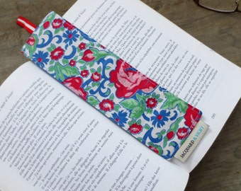 Bookmark – made from recycled fabric