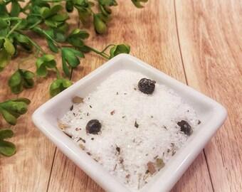 Eucalyptus Bath Salt Tea Bag, Wellness Warrior, aromatherapy sore muscle soak, fathers day gift for him, herbal bath gift, epsom salt