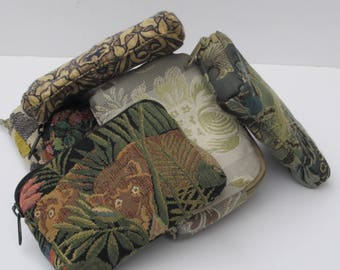 CLUTCH BAGS by Elizabeth Z Mow  Mini Mighty Cosmetics Gadgets Pouches