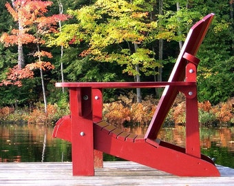 Folding Adirondack Chair Plans - DWG files for CNC machines