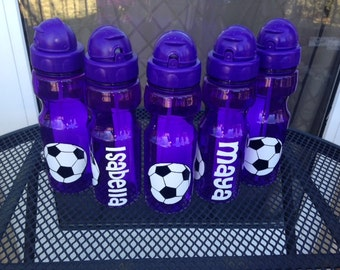 SALE Personalized Soccer Team Water Bottle 20oz