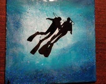 Scuba Divers Love