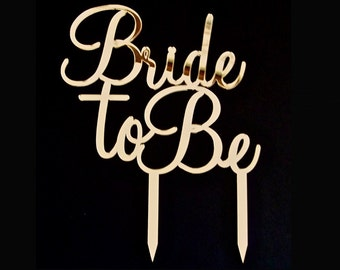 Bride To Be - Cake Topper by VividLaser