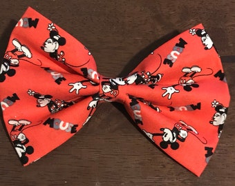 LE Vintage Mickey and Minnie Bow