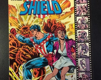 Lancelot Strong The Shield # 1 Comic by Red Circle Comics